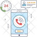 Incoming Call Call Calling Service Icon