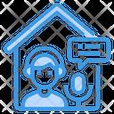 Podcast Headphone Home Icon