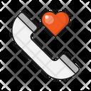 Love Call Phone Icon