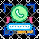 Call Password Document Icon