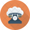 Call Cloud Mobile Icon