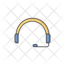 Call Center Headphone Icon