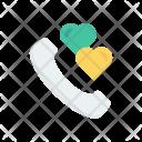 Call Favortie Heart Icon