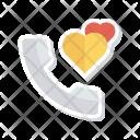Call Heart Love Icon