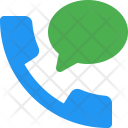 Call Message Shopping Icon