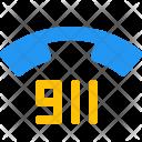 911 Emergency Call Icon