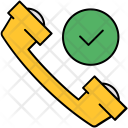 Confirm Approve Call Icon