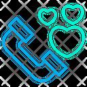 Heart Love Talk Icon