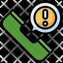 Call Alert Emergency Call Phone Call Icon