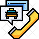 Call Center Taxi Inquiry Passenger Inquiry Icon