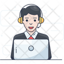 Operator Customer Services Helpline Icon