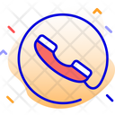 Call Center Phone Support Icon