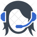 Call Center Contact Us Support Icon