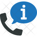 Call Center Info Information Icon