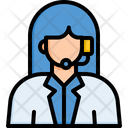 Call Center Operator Customer Support Icon