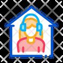 Home Call Center Icon