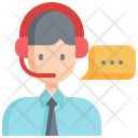 Call Center Customer Icon
