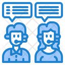 Support Call Center Message Icon