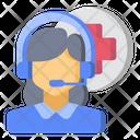 Call Center Customer Service Medical Icon