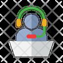 Call Center Customer Service Customer Support Icon