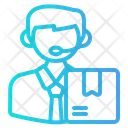 Call Center Support Communication Icon