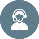 Call center agent Icon