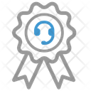 Call center badge Icon