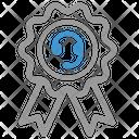 Call Center Badge Quality Service Award Icon