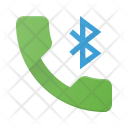 Call connected through Bluetooth Icon