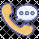 Call Conversation Icon