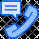 Telephone Call Conversation Icon