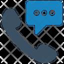 Call Conversation Phone Icon