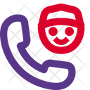 Call Courier Delivery Call Delivery Service Icon