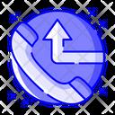 Call Diversion Call Forward Call Forwarding Icon