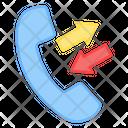 Call Divert Call Forwarding Phone Icon
