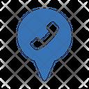 Call Location Call Location Icon