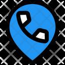Call Location Phone Location Call Icon