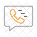 Call Message Communication Icon