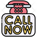 Call Now Call Contact Now Icon