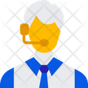Customer Service Customer Care Call Operator Icon