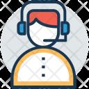 Call Operator Service Icon