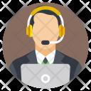 Call Operator Center Icon