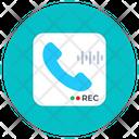 Phone Recording Call Recording Mobile Interface Icon