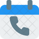 Call Schedule Contact Schedule Schedule Icon