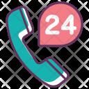 Call Service 24 Icon