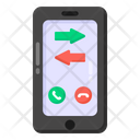 Incoming Call Outgoing Call Call Transfer Icon