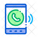 Tablet Voip Calling Icon