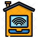 Home Online Work Icon