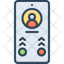 Calling Phone Contact Icon