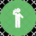 Calling Human Activitiy Icon